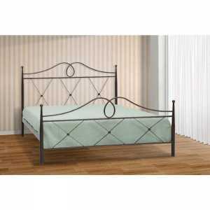 Αθηνά Κρεβάτι Ημίδιπλο Μεταλλικό 110x190cm