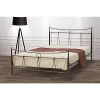 Δίας Κρεβάτι Διπλό Μεταλλικό