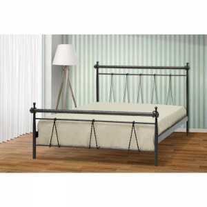 Ηρα Κρεβάτι Ημίδιπλο Μεταλλικό 110x190cm