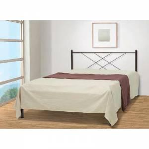 Καρέ Κρεβάτι Διπλό Μεταλλικό