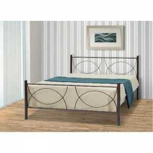 Κούπα Κρεβάτι Ημίδιπλο Μεταλλικό 110x190cm