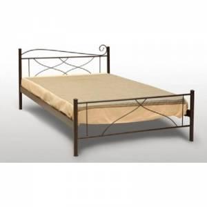 Κύμα Κρεβάτι Μονό Μεταλλικό 90x190cm