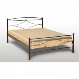 Μήλος Κρεβάτι Ημίδιπλο Μεταλλικό 110x190cm