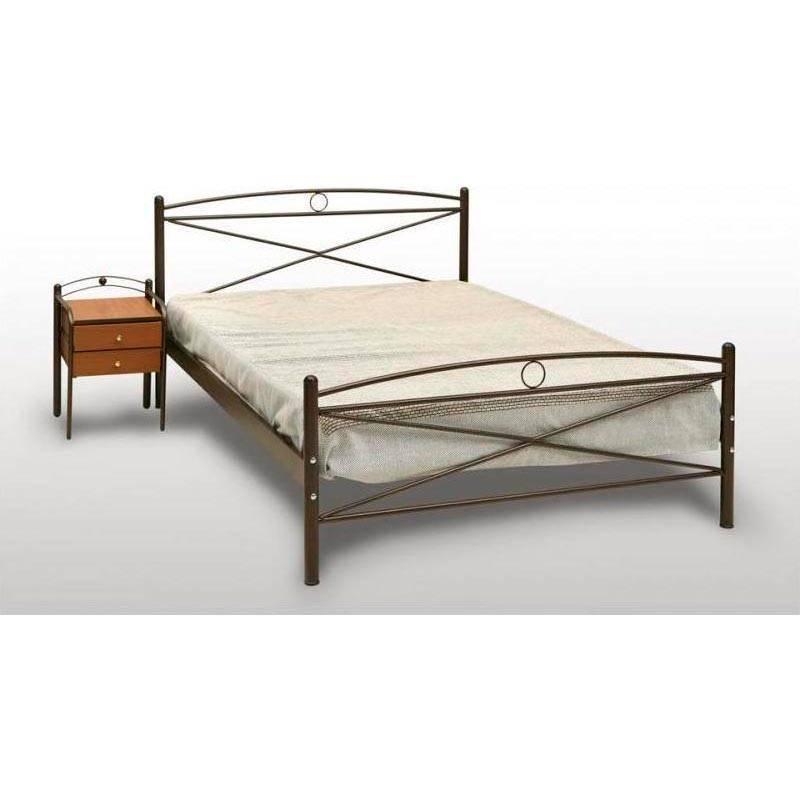 Χίος Κρεβάτι Διπλό Μεταλλικό