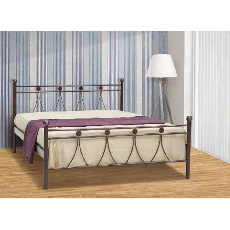 Λάμδα Κρεβάτι Διπλό Μεταλλικό