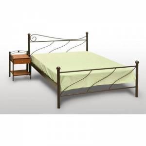 Πάρος Κρεβάτι Μονό Μεταλλικό 90x190cm