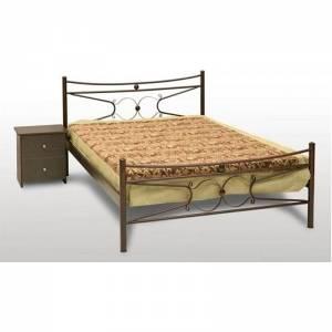 Πέταλο Κρεβάτι Διπλό Μεταλλικό