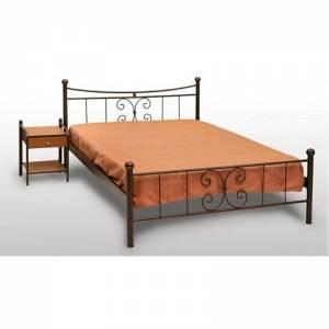 Πεταλούδα Κρεβάτι Μονό Μεταλλικό 90x190cm