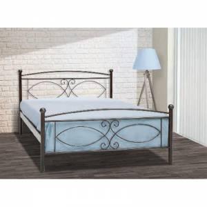 Τζια Κρεβάτι Μονό Μεταλλικό 90x190cm