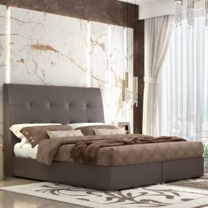 Κρεβάτι Νο123.60 Με Μηχανισμό Καφέ