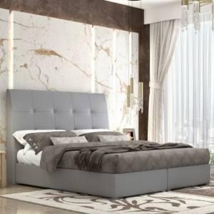 Κρεβάτι Νο123.60 Με Μηχανισμό Γκρι