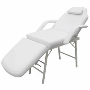 Καρέκλα Θεραπείας Ρυθμιζόμενη Πλάτη & Υποπόδιο Λευκή