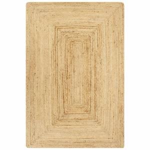 Χαλί Χειροποίητο Φυσικό Χρώμα 80 x 160 εκ. από Γιούτα