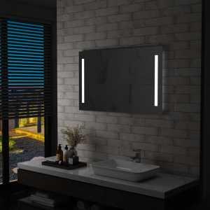 Καθρέφτης Μπάνιου Τοίχου με LED 100 x 60 εκ.