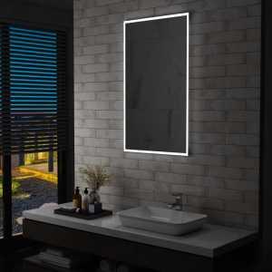 Καθρέφτης Μπάνιου Τοίχου  με LED 60 x 100 εκ.