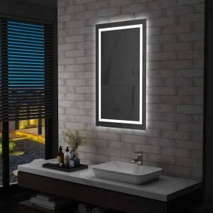 Καθρέφτης Μπάνιου με LED & Διακόπτη Αφής 60 x 100 εκ.