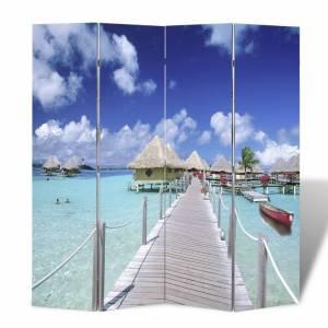 Διαχωριστικό Δωματίου Πτυσσόμενο Παραλία 160 x 170 εκ.
