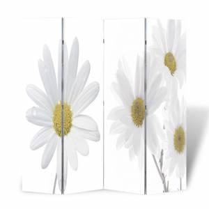 Διαχωριστικό Δωματίου Πτυσσόμενο Λουλούδι 160 x 170 εκ.