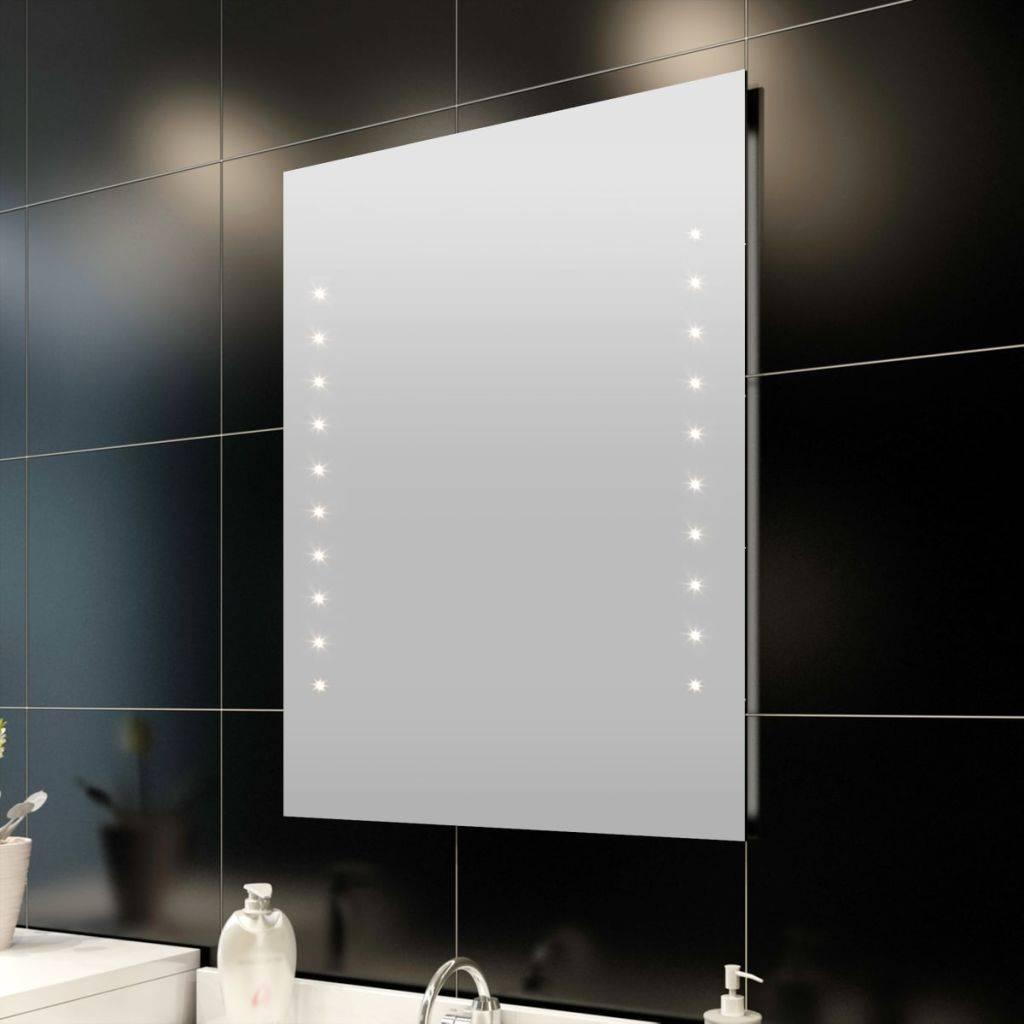 Καθρέφτης Μπάνιου 60x80cm(Μ x Υ) με Φώτα LED
