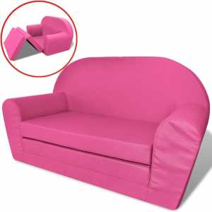Πολυθρόνα-Κρεβάτι Παιδική Ροζ