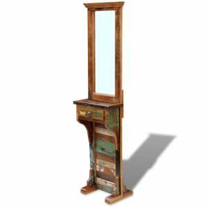 Καθρέφτης Εισόδου 47 x 23 x 180 εκ. από Μασίφ Ανακυκλωμένο Ξύλο