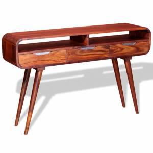 Τραπέζι Κονσόλα 120 x 30 x 75 εκ. από Μασίφ Ξύλο Sheesham