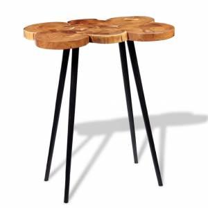 Τραπέζι Μπαρ Κορμός 90 x 60 x 110 εκ. από Μασίφ Ξύλο Ακακίας