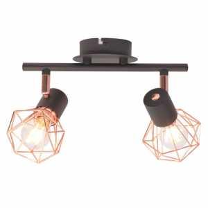 Φωτιστικό Σποτ Ράγα με 2 Λαμπτήρες LED Filament 8 W