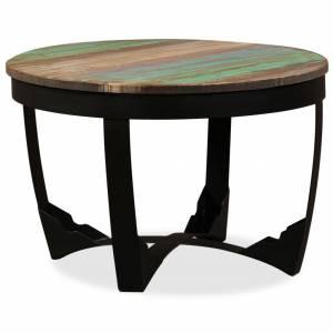 Τραπέζι Βοηθητικό 60 x 40 εκ. από Μασίφ Ανακυκλωμένο Ξύλο