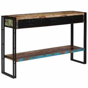 Τραπέζι Κονσόλα 120 x 30 x 76 εκ. από Μασίφ Ανακυκλωμένο Ξύλο