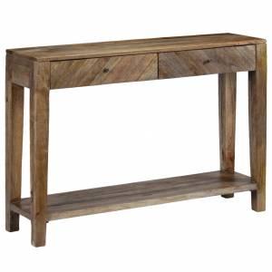 Κονσόλα Τραπέζι 118 x 30 x 80 εκ. από Μασίφ Ξύλο Μάνγκο
