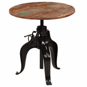 Τραπέζι Μπαρ 75 x (76-110) εκ. από Μασίφ Ανακυκλωμένο Ξύλο