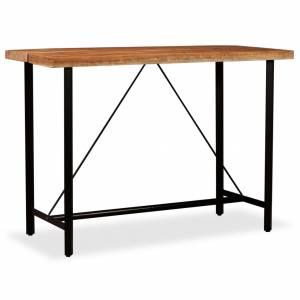Τραπέζι Μπαρ 150 x 70 x 107 εκ. από Μασίφ Ξύλο Ακακίας