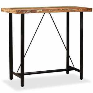 Τραπέζι Μπαρ 120 x 60 x 107 εκ. από Μασίφ Ανακυκλωμένο Ξύλο