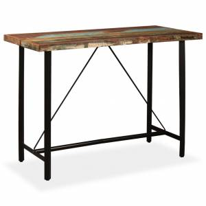 Τραπέζι Μπαρ 150 x 70 x 107 εκ. από Μασίφ Ανακυκλωμένο Ξύλο