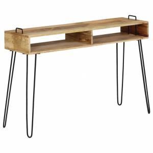 Τραπέζι Κονσόλα 115 x 35 x 76 εκ. από Μασίφ Ξύλο Μάνγκο