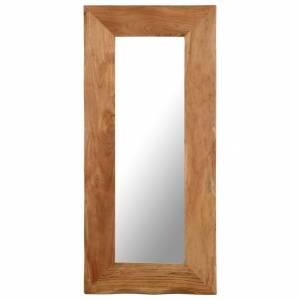 Καθρέφτης Μακιγιάζ 50 x 110 εκ. από Μασίφ Ξύλο Ακακίας