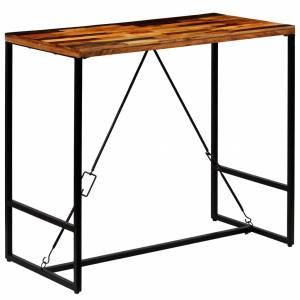 Τραπέζι Μπαρ 120 x 60 x 106 εκ. από Μασίφ Ανακυκλωμένο Ξύλο