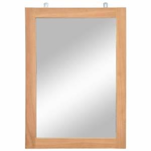 Καθρέφτης Τοίχου 50 x 70 εκ. από Μασίφ Ξύλο Teak