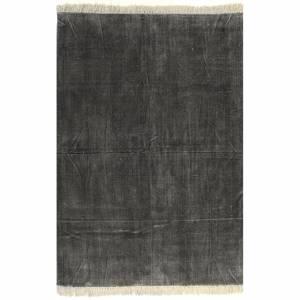 Κιλίμι Ανθρακί 160 x 230 εκ. Βαμβακερό