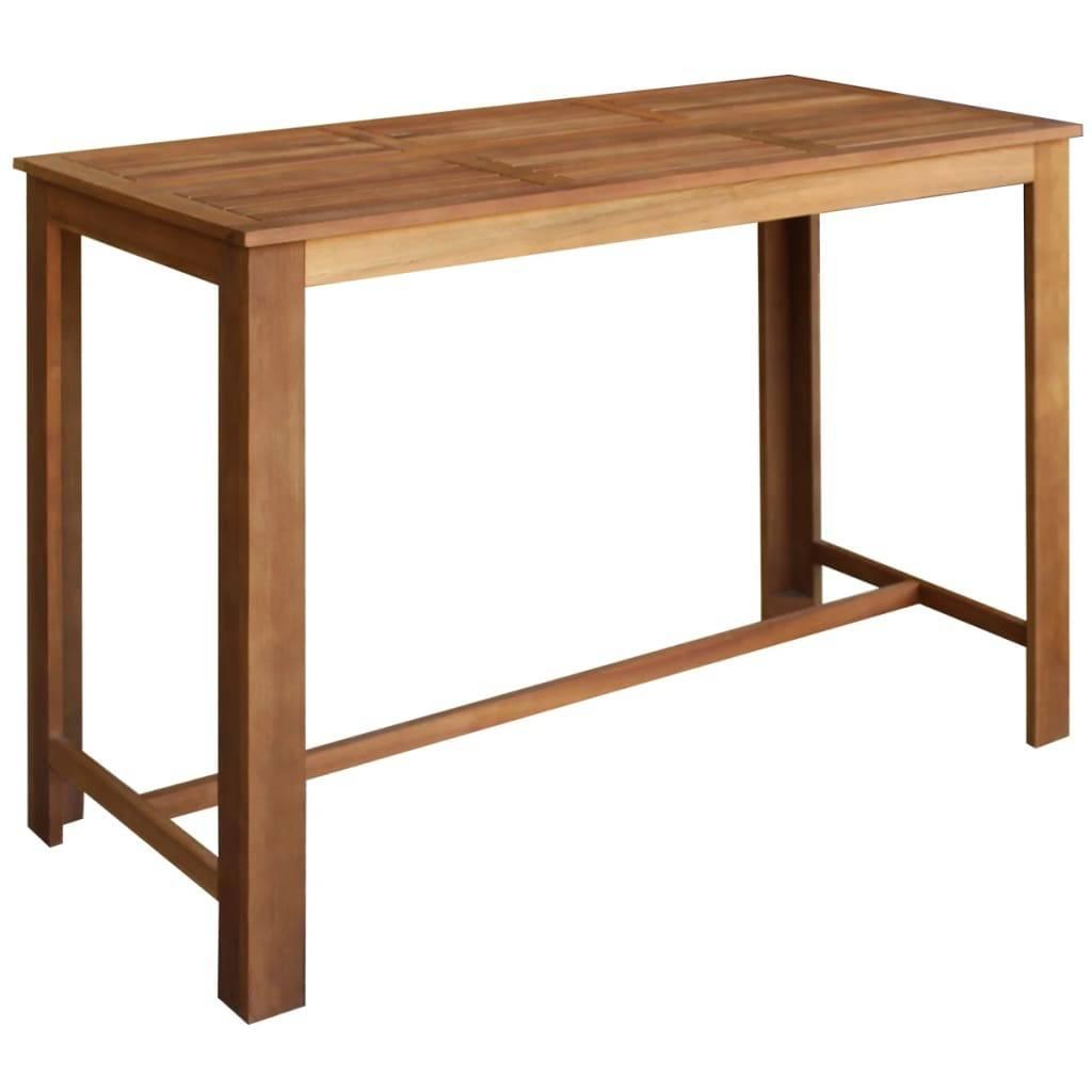 Τραπέζι Μπαρ 150 x 70 x 105 εκ. από Μασίφ Ξύλο Ακακίας