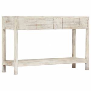 Τραπέζι Κονσόλα 120 x 35 x 75 εκ. από Μασίφ Ξύλο Μάνγκο