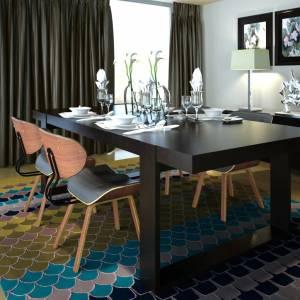 Καρέκλες Τραπεζαρίας 4 τεμ. από Λυγισμένο Ξύλο/Συνθετικό Δέρμα