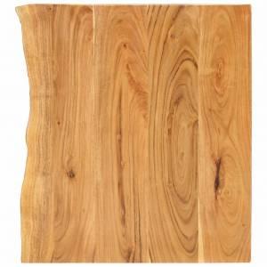 Πάγκος Μπάνιου 80 x 55 x 2,5 εκ. από Μασίφ Ξύλο Ακακίας
