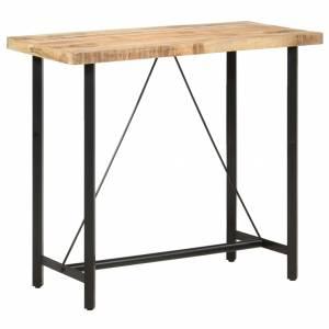 Τραπέζι Μπαρ 120 x 58 x 107 εκ. Ακατέργαστο Ξύλο Μάνγκο