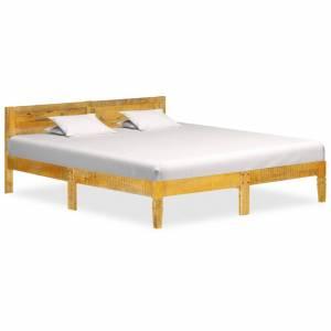 Πλαίσιο Κρεβατιού 160 εκ. από Μασίφ Ξύλο Μάνγκο
