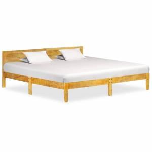 Πλαίσιο Κρεβατιού 200 εκ. από Μασίφ Ξύλο Μάνγκο