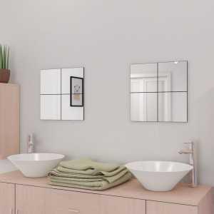 Πλακίδια Καθρέφτη 16 τεμ. 20,5 εκ. Χωρίς Πλαίσιο