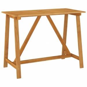 Τραπέζι Μπαρ Κήπου 140 x 70 x 104 εκ. από Μασίφ Ξύλο Ακακίας