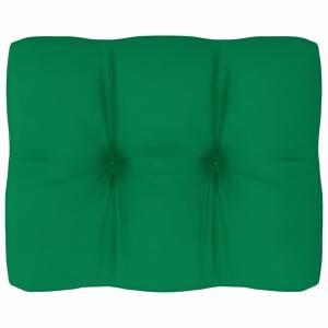 Μαξιλάρι Καναπέ Παλέτας Πράσινο 50 x 40 x 12 εκ.